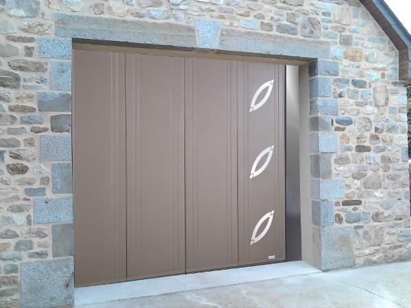 Portails Et Portes De Garage Sectionnelles Latérales Ou